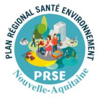 Logo du Plan Régional Santé Environnement (PRSE) de la région Nouvelle-Aquitaine